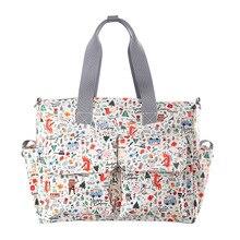 Сумка для подгузников, модная многофункциональная сумка, водонепроницаемая сумка на одно плечо, переносная сумка для кормления