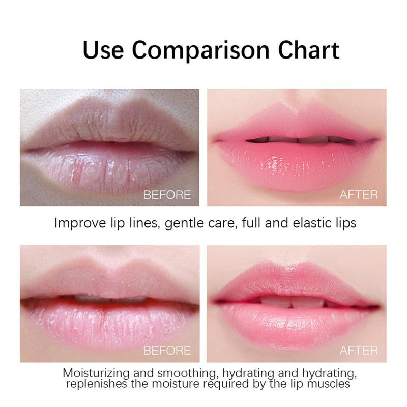 1 Pcs Cherry Moisturizing Lip Mask Moisturizing And Color-enhancing Lip Mask Anti-chapped Lip Care 4