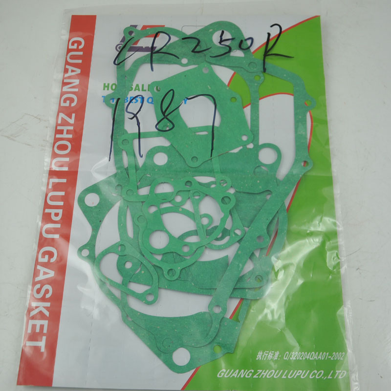 For <font><b>Honda</b></font> CR250R CR250 R 1987 Motorcycle <font><b>Engine</b></font> Crankcase Covers Cylinder Gasket Kit Set image