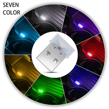 Mini LED Car Light Auto Interior USB Atmosphere Light Plug And Play Decor Lamp Emergency Lighting PC Auto Decoration Accessory image