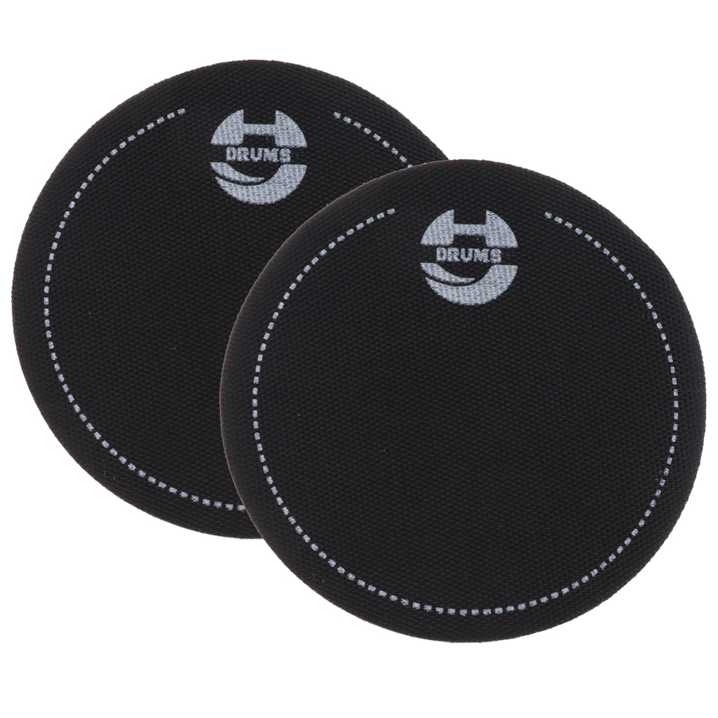2 Pieces Single Step Bass Drum Patch For Drumheads Kick Pad Spare Parts