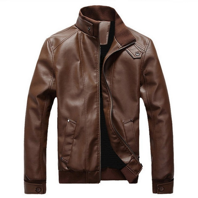 Brown Leather Jacket 1