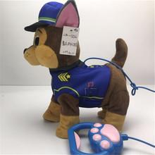 1 sztuk nowy elektryczny chodzący pluszowy pies zabawka wypchane zwierzę uchwyt sterowania muzyka elektroniczna zabawki dla szczeniąt dla dzieci prezenty świąteczne tanie tanio JUSURE CN (pochodzenie) Pp bawełna 8 ~ 13 Lat 14 lat 2-4 lat 5-7 lat Dorośli JS620 11 cm-30 cm Zwierzęta i Natura 24cm