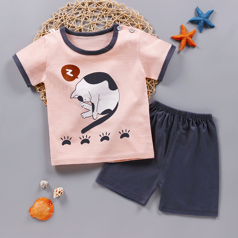 Toddler Baby Girls Summer Clothing Sets Girls Summer Clothes Set Kids Fashion Sport Suit Set Boys Clothes Girl Clothes