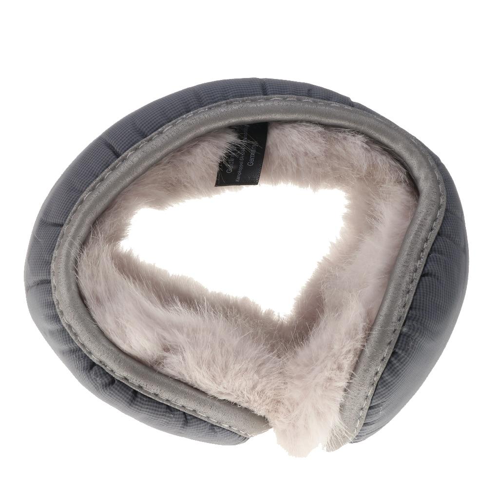 Men's Women's Fleece Lined Compact Winter Earmuffs Waterproof Ear Warmers