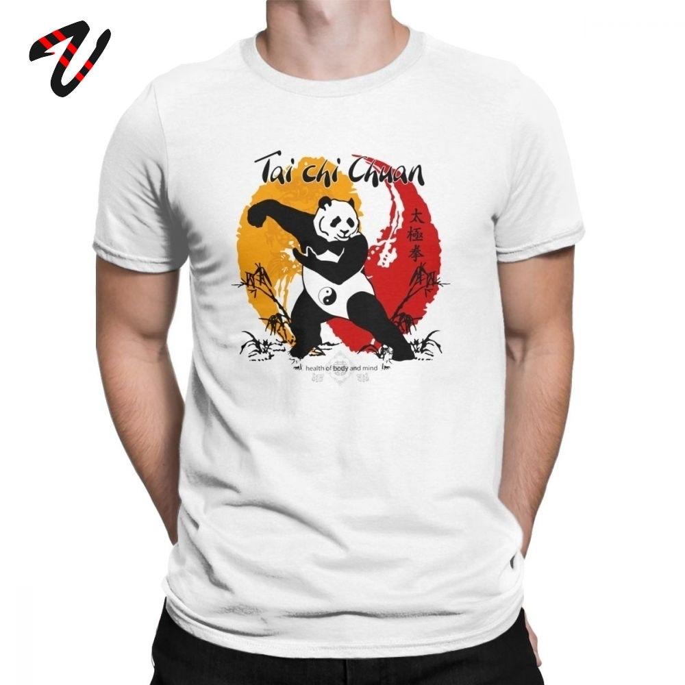 Хлопковые мужские футболки Тай чи чуань тренировочные мужские футболки крутая футболка с круглым вырезом футболки Забавные футболки