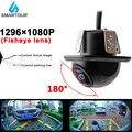 Smartour CCD 180 градусов объектив рыбий глаз Автомобильная камера заднего вида с широкоугольной камерой заднего вида Водонепроницаемая резервна...