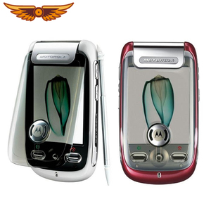 Motorola A1200 Original Unlocked Motorola MING GSM 2.4Inches 2MP Camera Bluetooth Java Cellphone Flip Refurbished Mobile Phone