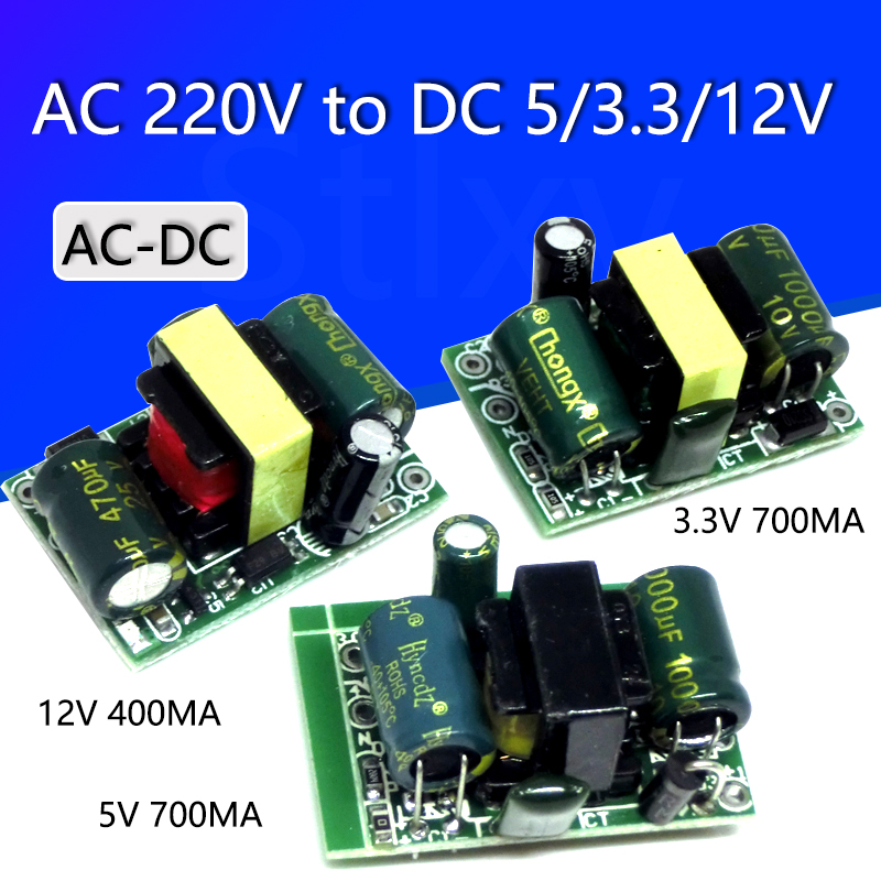 AC-DC 5V 700mA 3.5W Precision Buck Converter AC <font><b>220v</b></font> to 5v DC step down Transformer <font><b>power</b></font> <font><b>supply</b></font> <font><b>module</b></font> <font><b>12V</b></font> 400MA 3.3V 700MA image