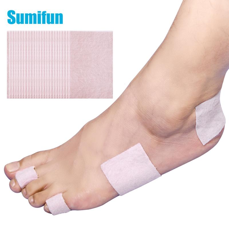 5pcs Foot Heel Sticker Waterproof Broken Toe Heel Protector Pad Adhesive Patch Back Blister Fleece Fabric Anti-Friction C1660