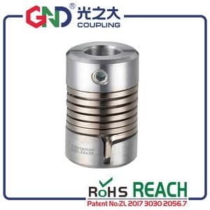Муфта GND цинкового сплава Гибкая муфта вала для микро мотора и соединение кодировщика setwint kaplin CNC D26 L50