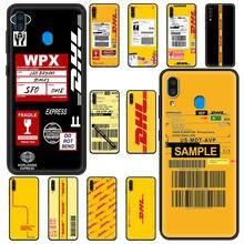 DHL Express Fall Für Samsung Galaxy A50 A10 A70 A30 A20e A40 A20s A20 A10s A50s Weichen Telefon Abdeckung Funda zurück Shell Luxus Coque