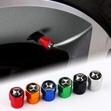 자동차 스타일링 4pcs 3D 금속 자동 휠 타이어 밸브 스템 캡 커버 시트로엥 DS DS4 DS5 DS5 DS6 DS7 DS5LS 액세서리
