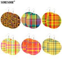 6 пакетов круглые серьги подвески в британском стиле