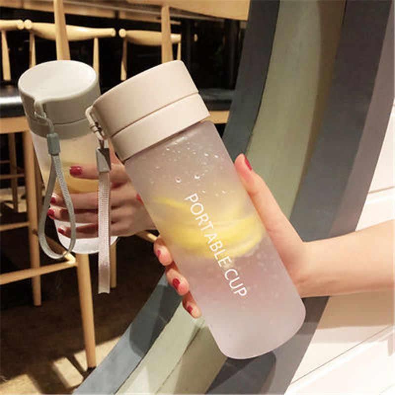 600/800 ml bpa livre à prova de vazamento garrafa de água portátil esportes escalada caminhadas garrafa potável direta