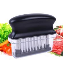 48 Blades Needle Meat Tenderizer Stainless Steel Knife Meat Beaf Steak Mallet Meat Tenderizer Hammer Pounder Cooking Tools 15