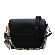 Brand Lady Pu Leather Wild Messenger Bag Large Pocket Shopping Ladies Travel Simple Solid Color Shoulder Trumpet