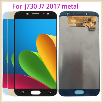 For Samsung Galaxy J7 Pro 2017 J730 J730F J730FM Touch Screen Digitizer LCD Display Adjust For Samsung J7 J730 metal image