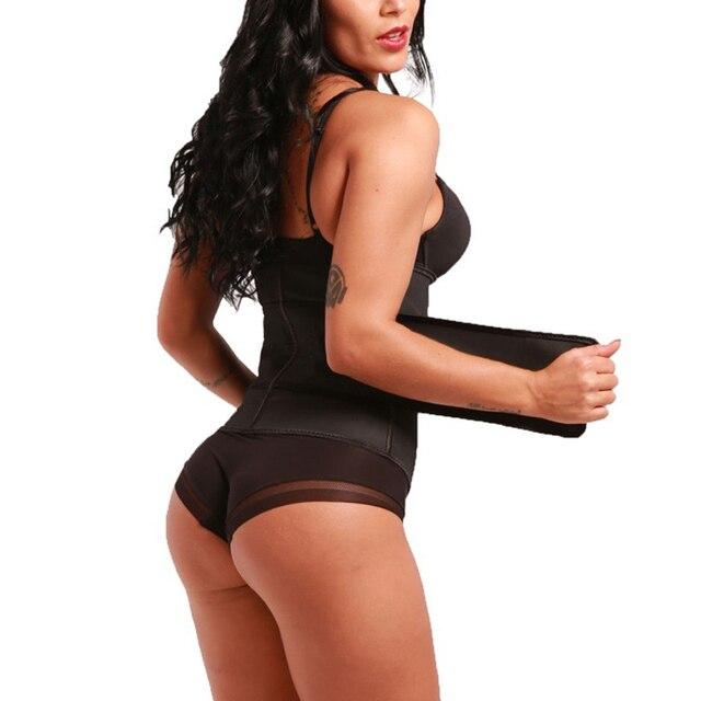 Hot Fitness Women Waist Trainer Sweat Belt Waist Trimmer Slimming Tummy Control Girdle Weight loss Support Belt For Men Women 3