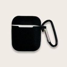 Черная Резиновая Защитная Пряжка для телефона мягкая наклейка