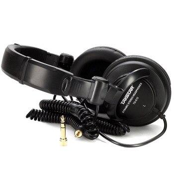 Earphone 100%   TS-610 closed dynamic stereo headphone monitoring headphone for DJ, recording studio monitoring
