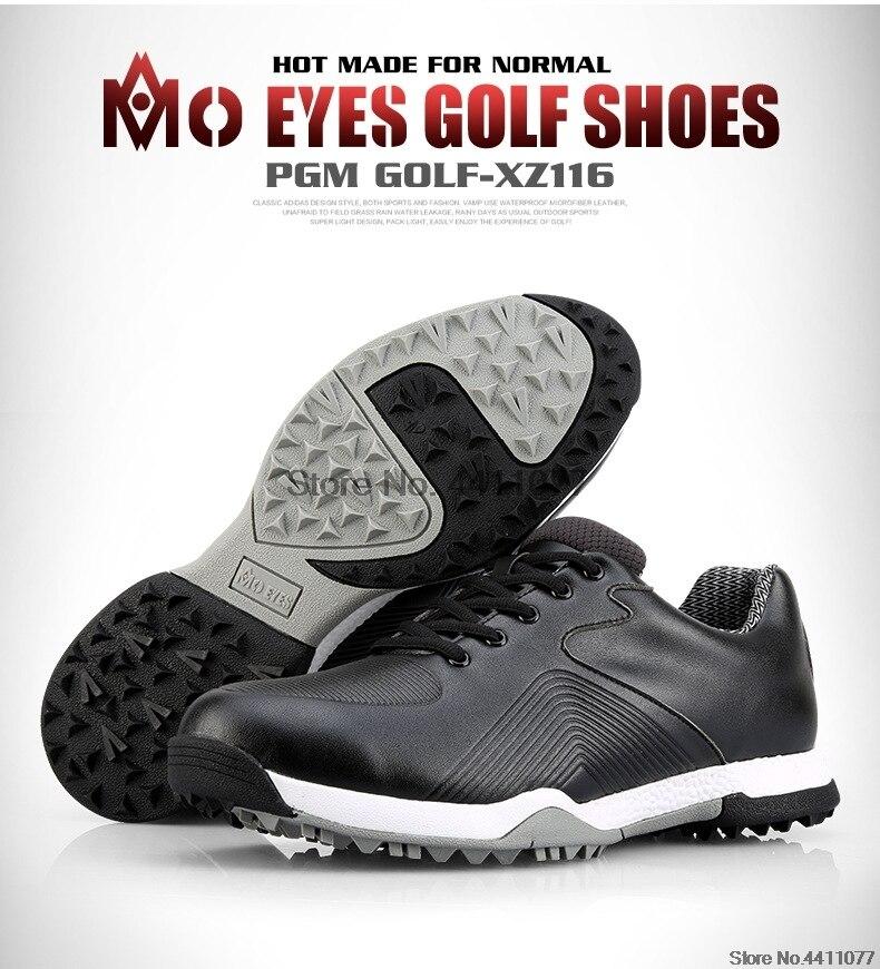 Pgm tênis de golfe dos homens à