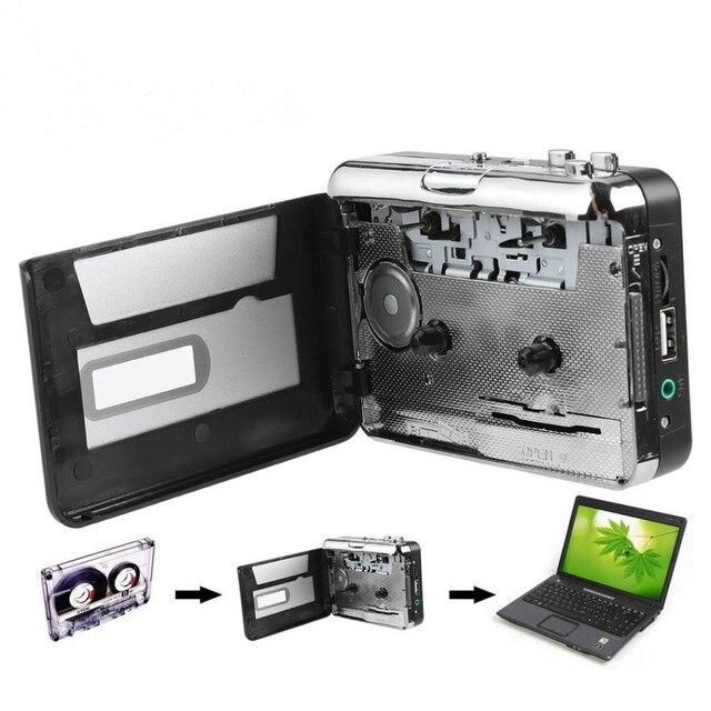 REDAMIGO MP3 cassette player capture to MP3 Cassette Capture Tape to PC Super Cassette to MP3 Converter Cassette-to-MP3 EZ218