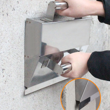 Plaster-Scraper Hand-Tools Wall-Decor Cement Handle-Mortar with Anti-Slip Stainless-Steel