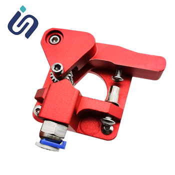 Aluminum Dual MK8 Extruder Kit For Creality CR-10/CR-10 Mini/Ender-3 PRO RepRap Prusa i3 Double Pulley Extruder 1pc blue pink black mk7 mk8 mk9 silicone socks for ender creality cr 10 anet reprap tronxy x5s silicone heater block cover