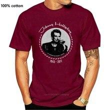 Johnny hallyday rip tribute 1943-la legend fã camisa rock preto homem camiseta unisex