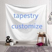 Criativo diy design tapeçaria de suspensão parede poliéster dormitório da família quarto sala estar decoração tapete yoga personalizar tapeçaria
