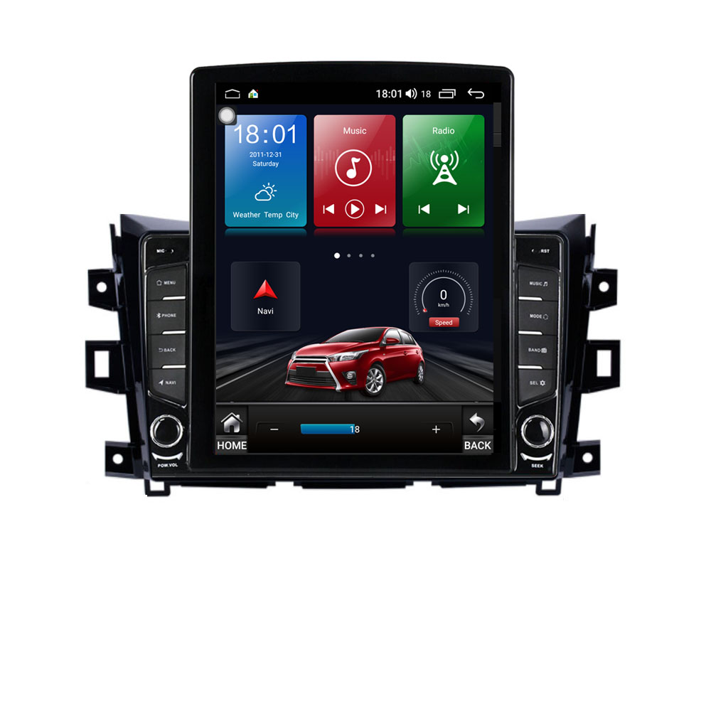 """9.7""""  Android 10.1 For Nissan NAVARA Frontier NP300 2011 2016 Tesla Type Car Radio Multimedia Video Player Navigation GPS RDS Car Multimedia Player    - AliExpress"""