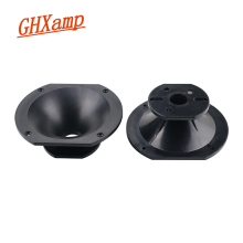 GHXAMP Loudspeaker 135*155mm Stage Speaker ABS Horn Throat Speaker Unit Original  Professional Stage Speaker Accessories