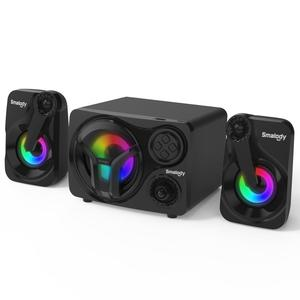 Wireless Bluetooth Speaker Computer TV computer notebook USB Loudspeaker Music Column Speakers Subwoofer With Carry Strap FM