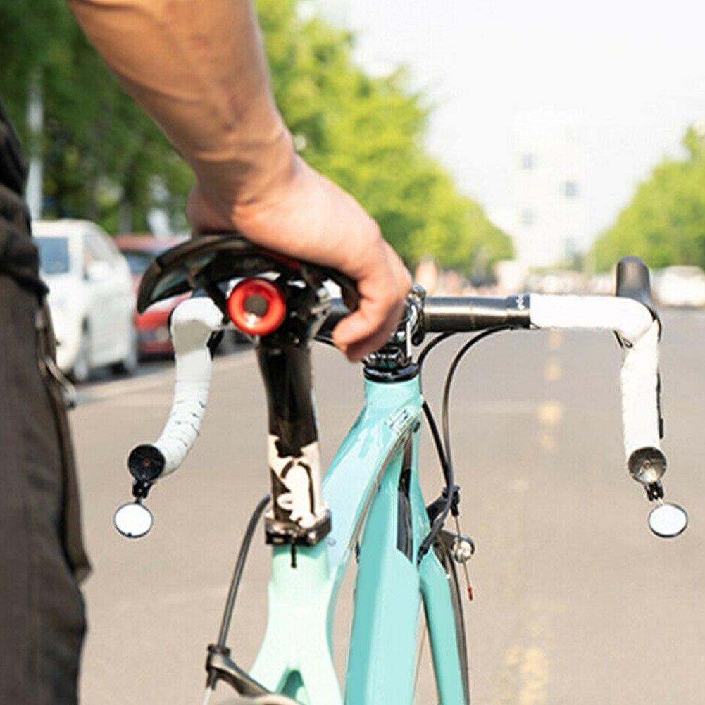 Adjustable MTB Road BIKE BICYCLE HANDLEBAR Bar Plug End MIRROR REARVIEW 1 PIECES