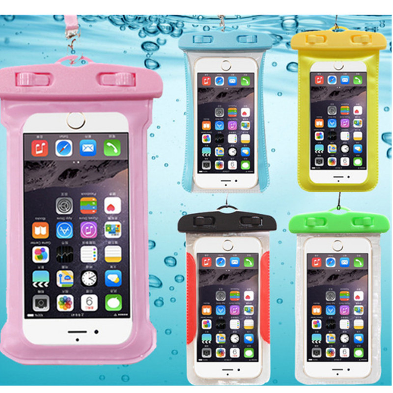Universal Cover Waterproof Phone Case For Phone  Coque Pouch Waterproof Bag Case For Samsung Galaxy  Swim Waterproof Case