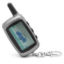Para starline a8 chaveiro corrente fob controlador remoto lcd para twage starline a9/a8/a6 em dois sentidos sistemas de alarme de carro