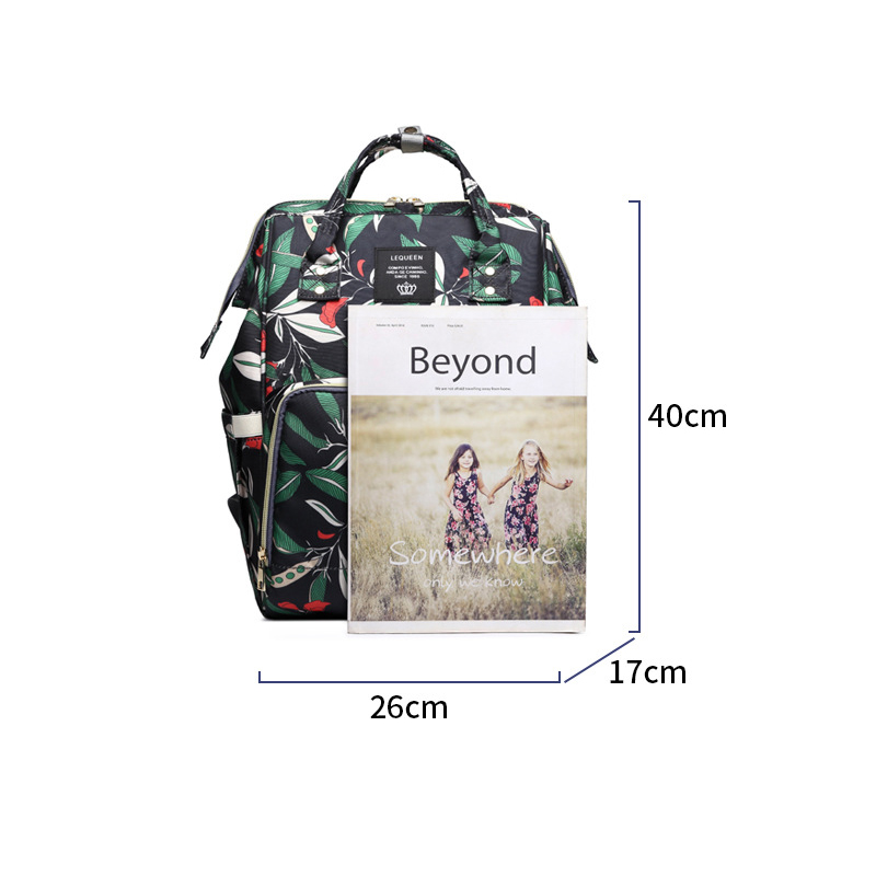 Ha9014a8c17cf4291bfe30b5f9bd42032Q Diaper Bag Backpack For Moms Waterproof Large Capacity Stroller Diaper Organizer Unicorn Maternity Bags Nappy Changing Baby Bag