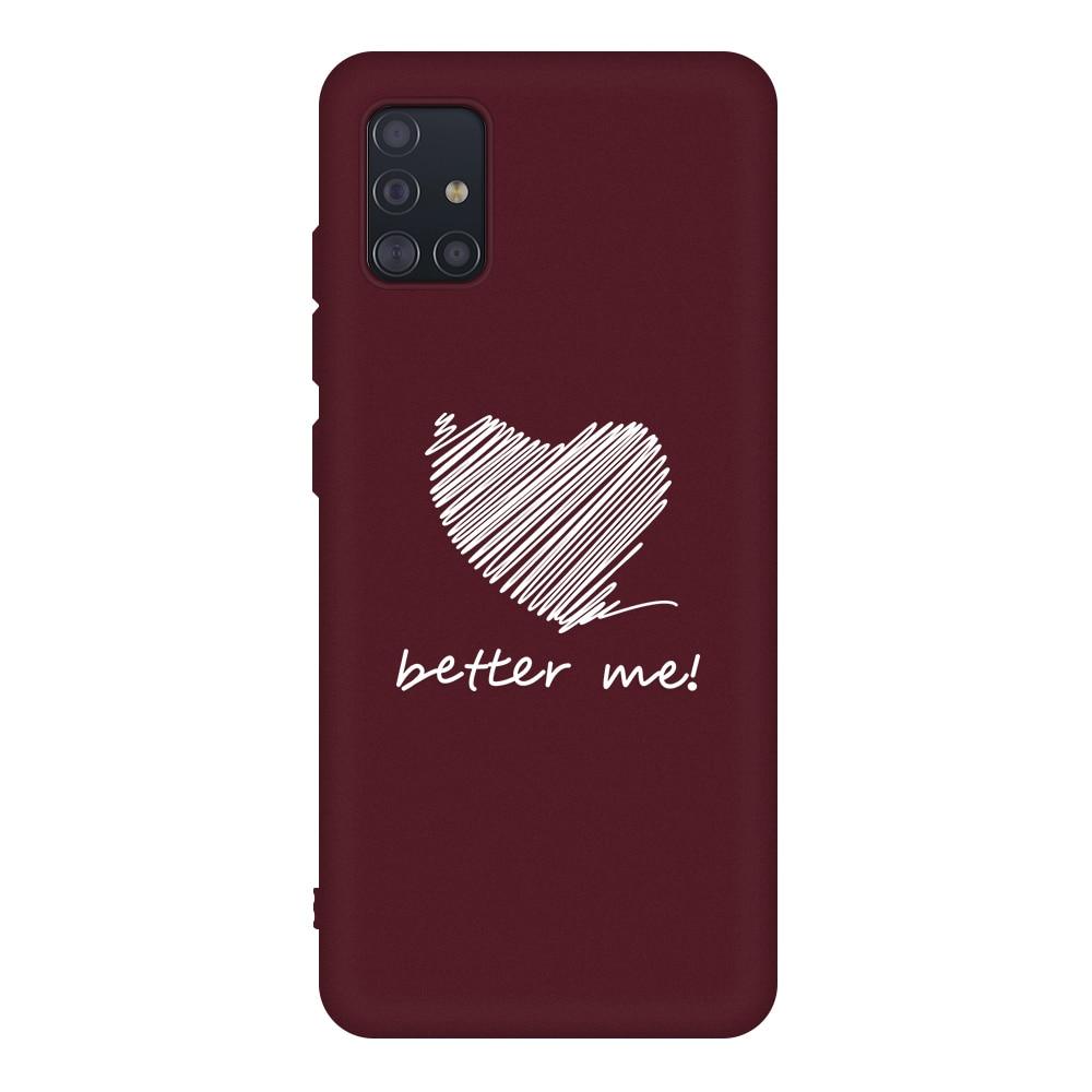 Fashion Couples Case For Samsung Galaxy A51 Case Soft TPU Silicone Cover For Samsung A71 A51 SM A515 A715 A 50 70 A71 Phone Case