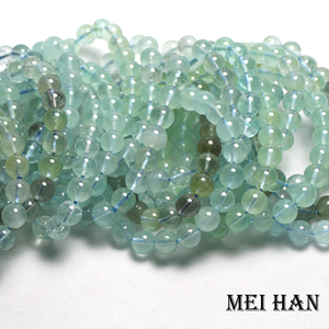 Image 1 - Natural Topazz 9 9.5mm (19 beads/set/29g) smooth round loose beads for jewelry making design precious stone diy