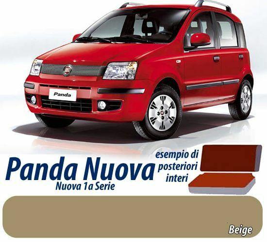 COPRISEDILI por AUTO SEDILI FODERE FIAT PANDA NUOVA 1a SERIE color BEIGE