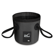 SZX 12L/20L 500D folding bucket fishing waterproof buckets portable bag storage outdoor car wash camping