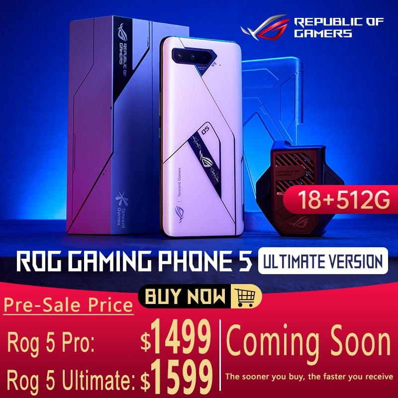 ASUS ROG игровой телефон 5 Pro   Ultimate Snapdragon888 144 Гц 18 ГБ + 512 ГБ 5G 6,78