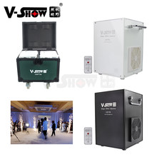 V-show 2pcs Device With Wheeled Case 750w Cold Spark Firework Machine Wedding Special Effect Dmx Remote Dj Event Party Machine