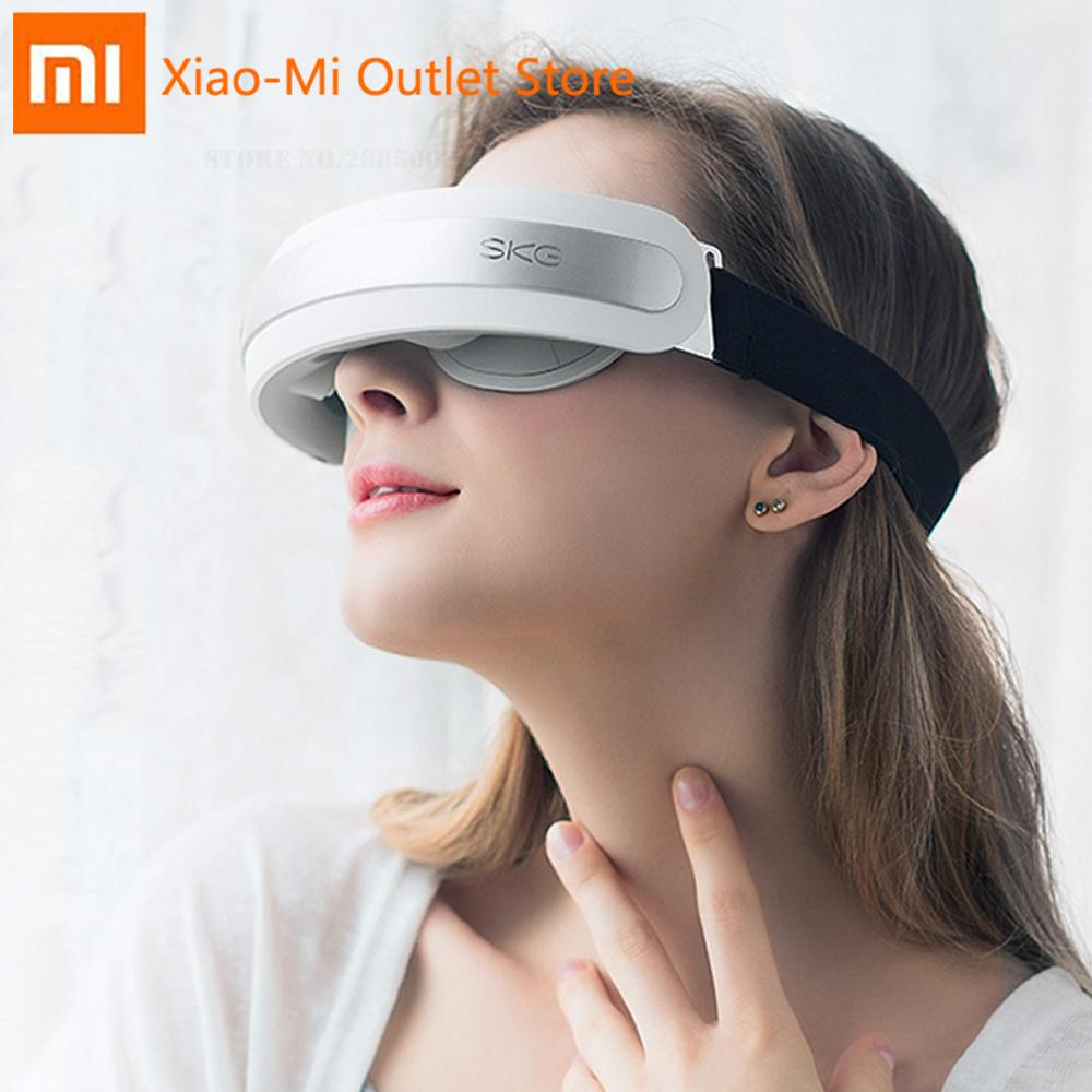Xiaomi Youpin SKG Eye Massager 4301 3D Mechanical Massage Soft Silicone Massage Head Three Smart Modes 42 °C Warm Compressive image