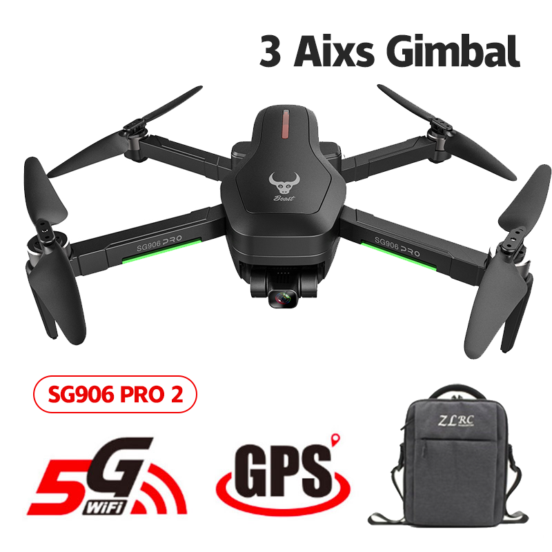 SG906 Pro 2 Drone 4k GPS with HD Camera 3 axis Gimbal Brushless Profissional 800M Wifi 26 Mins RC Dron 4k GPS Quadrocopter New