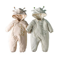 Autumn Winter Newborn Baby Clothes Unisex Halloween Clothes baby Rompers Kids Costume For Girl Infant Jumpsuit 6 18 Month