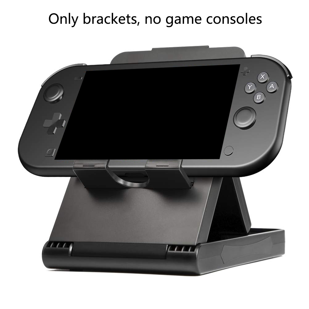 Bracket Game Console Stand Storage Support Portable Foldable Play Base Home Height Adjustable Small Accessories For Switch Lite