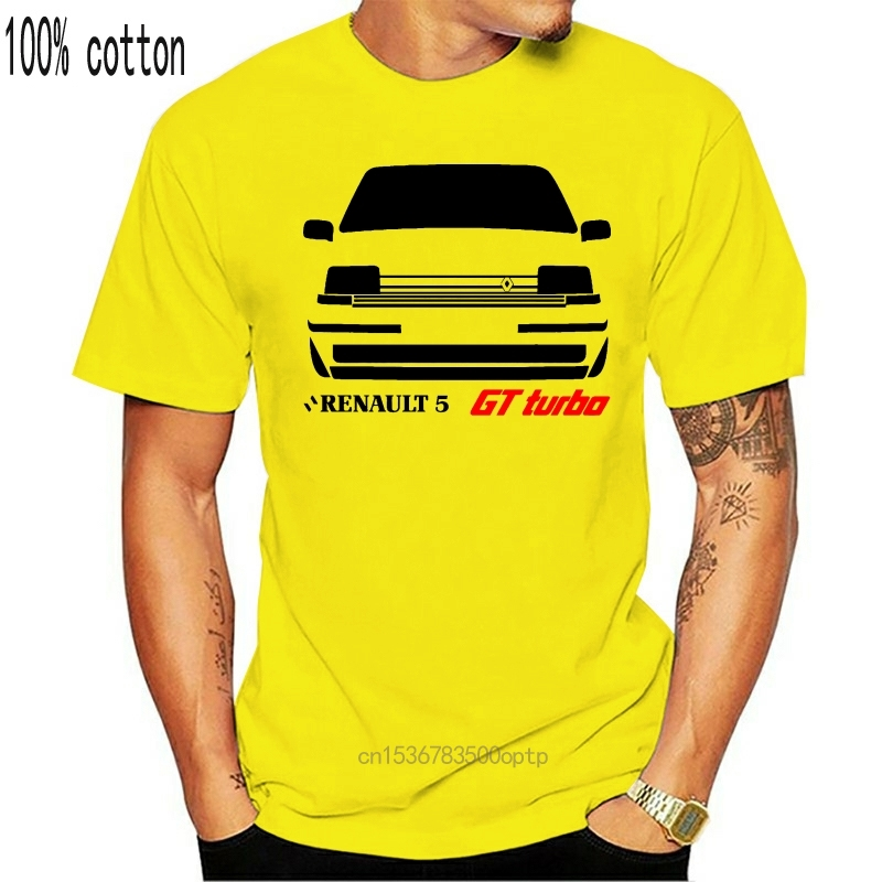 Camiseta renault 5 gt turbo