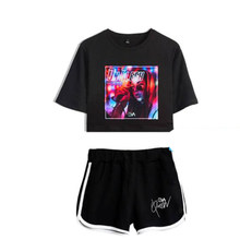 New Luxury Harajuku Fashion Eva Queen Two Piece Set Women Sexy Shorts+T-shirt Eva Queen casual summer Sports sexy Girls suits